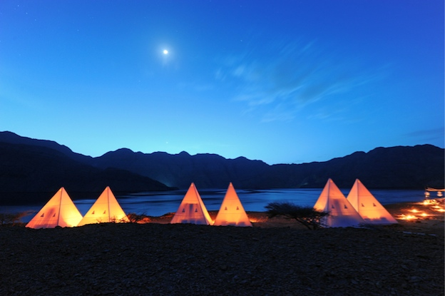 Musandam Peninsula camp