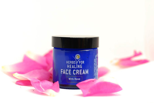 Face Cream with Rose