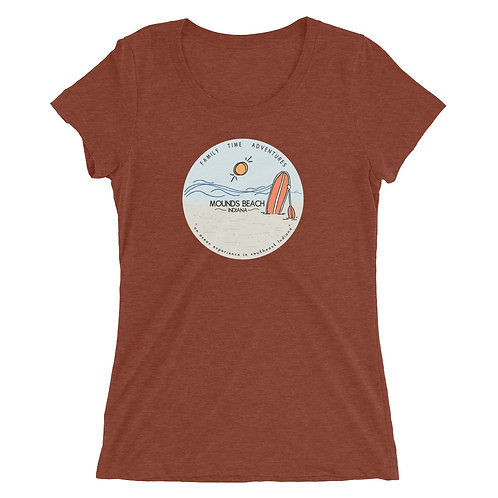 Women's Mounds Beach Tri-Blend Shirt