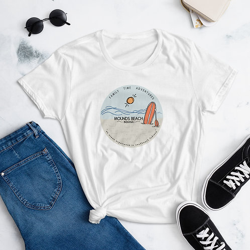 Women's Mounds Beach Shirt