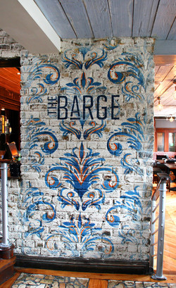 the barge logo.