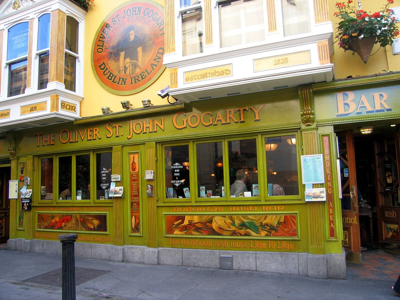 The Oliver St John Gogarty. Dublin