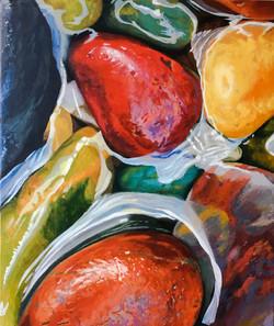 Fran Halpin. Clarity series. Acrylic on canvas