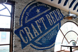 craft beer logo. The Barge, Dublin