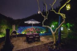 Garden mural full view