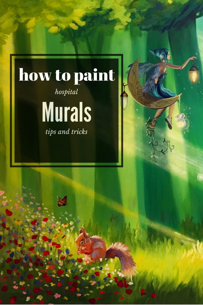 Top tips for painting hospital murals
