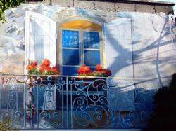French inspired mural. Dublin