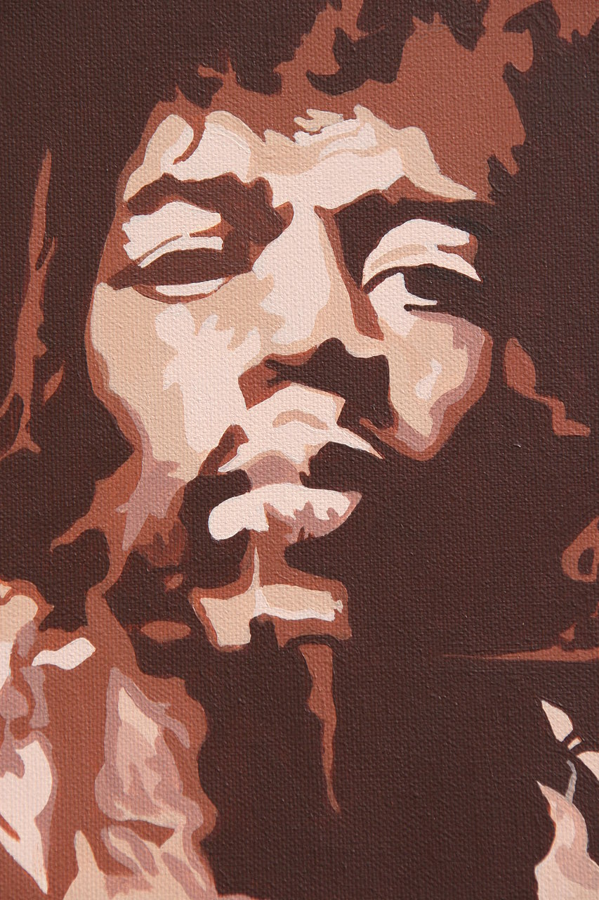 Jimi Hendrix detail