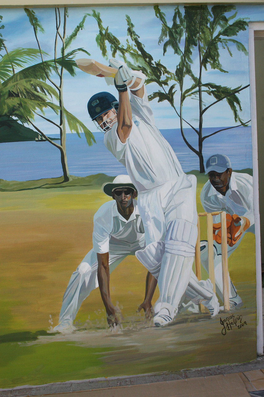 cricket+players. St. Lucia