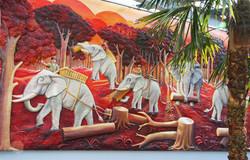elephant+scene