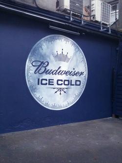 Budweiser+logo+in+beer+garden