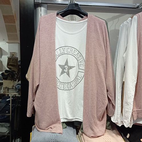 Conjunto Camiseta + Chaqueta