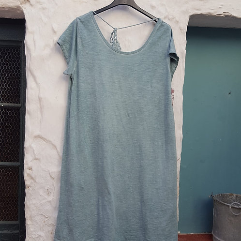 Vestido algodón Espalda