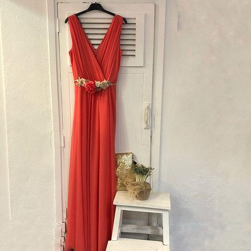Vestido Coral Tul