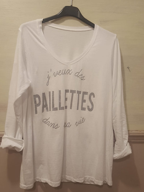 """Básica """"Paillettes"""""""