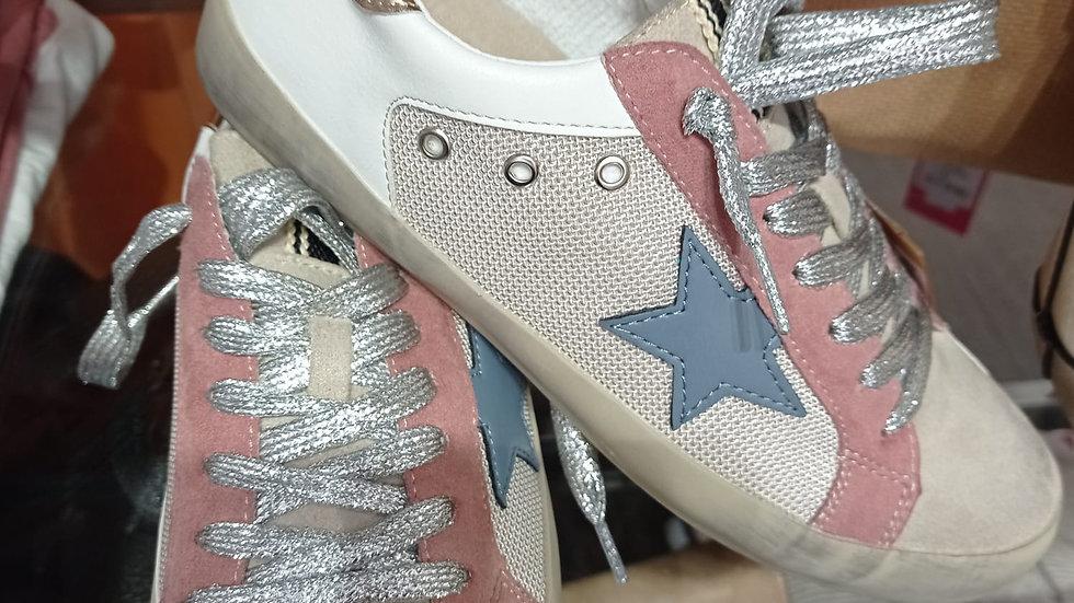 Zapatilla Estrella Colores