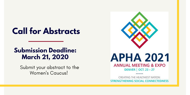 2021 Women's Caucus Call for Abstracts-2