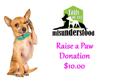 Raise a Paw Donation