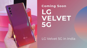 LG VELVET 5G is coming soon in India 2021, Latest