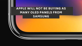 Apple Will Not Be Buying As Many OLED Panels from Samsung in 2021