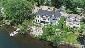 Aerial - Doug Lebel Webster Lake Boat Ph