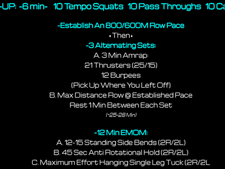 Daily Workout 5.8.21