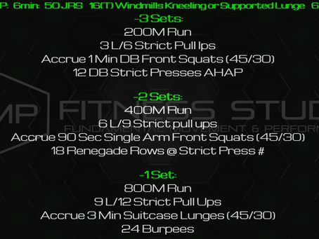 Daily Workout 11.7.20