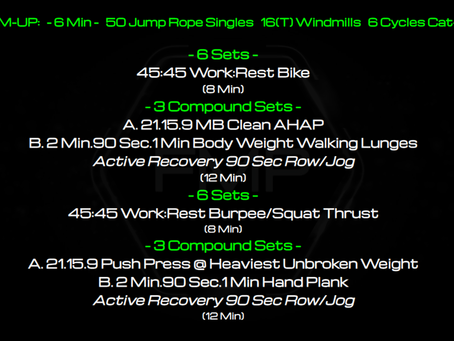 Daily Workout: 11.28.20