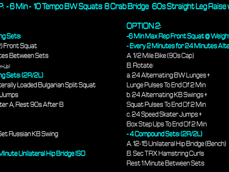 Daily Workout 5.6.21