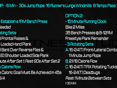 Daily Workout: 5.5.21