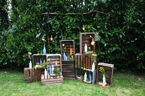 Crates and bottles