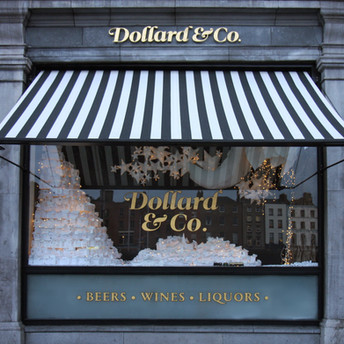 Dollard & Co. window display