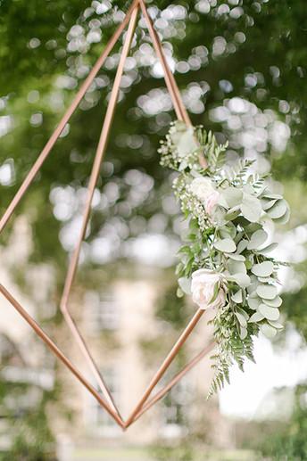 Tree installation: diamonds
