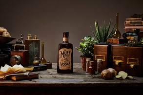 Muff Liquor Company Vodka product styling