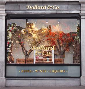 Dollard & Co. Summer/Autunm window