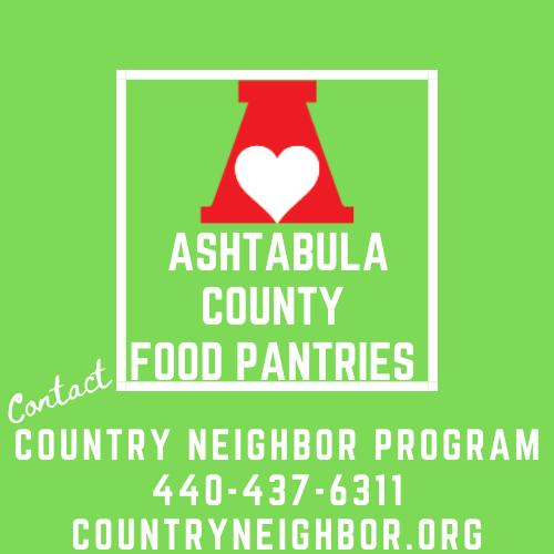 Ashtabula County Food Pantry Information