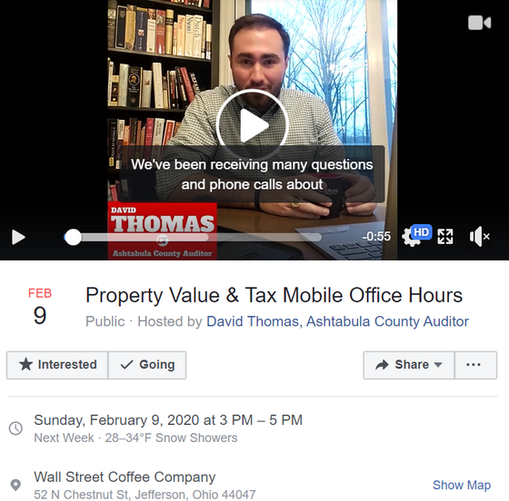 Property Tax and Value Mobile Office Hours