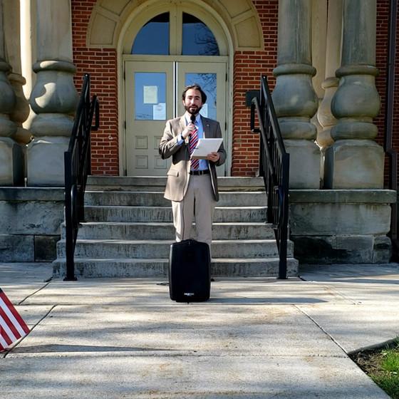 Virtual National Day of Prayer Ceremony Held in Jefferson