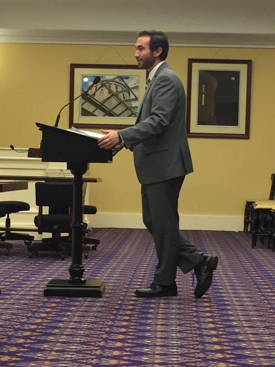 David Thomas Testifies before Ohio House Committee