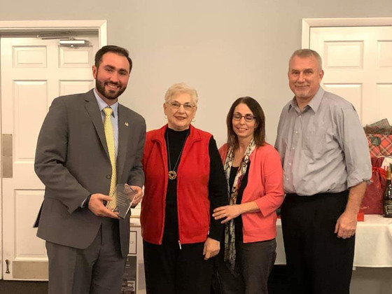 Auditor Thomas and Office receive Affiliate of the Year Award from Ashtabula County Board of REALTOR