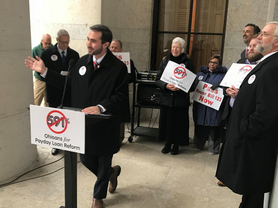 David Thomas Joins Payday Loan Reform Rally at Statehouse