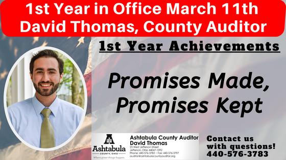 1st Year in Office Promises Made, Promises Kept