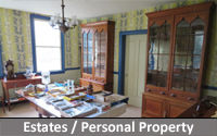 Estate or Personal Property Auctions