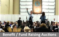 Benefit and Fund Raising Auctions