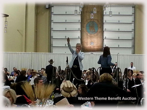 Western Theme Benefit Auction