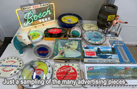 Photo of advertising in the auction