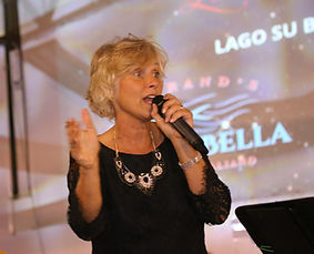 Carol Miller Auctioneering at Benefit Event