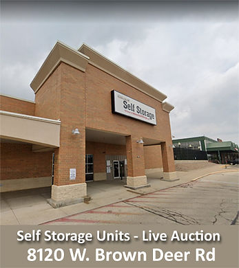 Menard Self Storage Unit Building