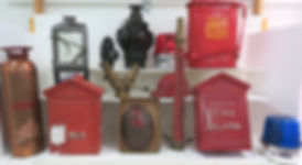 Highlite photo of fire department items