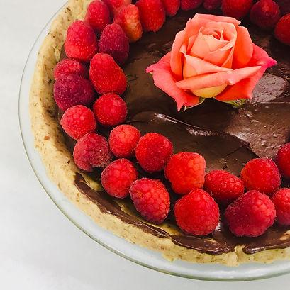 Ganache Pie with Raspberries.jpg
